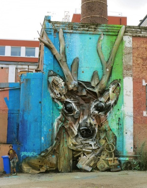 Deer by Bordalo II